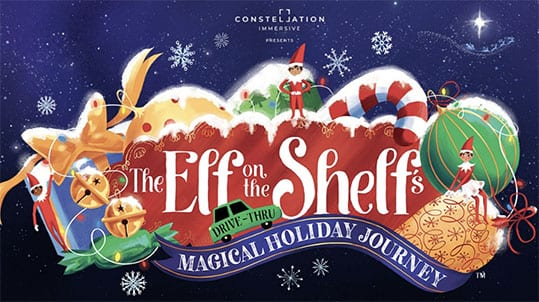 Elf on the shelf magical holuday journey
