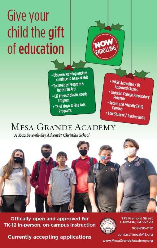 Mesa Grande School
